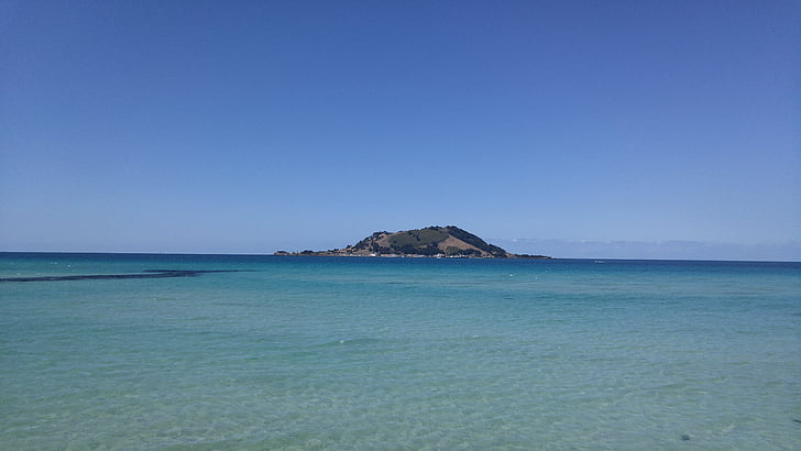 Jeju island στη θάλασσα, νησί Jeju, στη θάλασσα