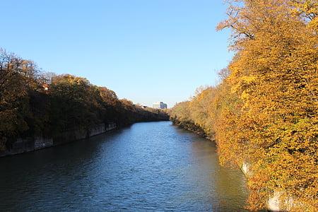 Isar, riu, Munic, Alemanya