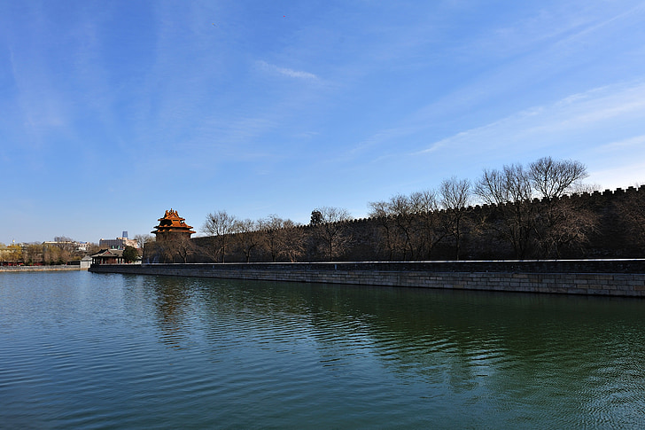 Peking, vallikraav, riikliku palace museum