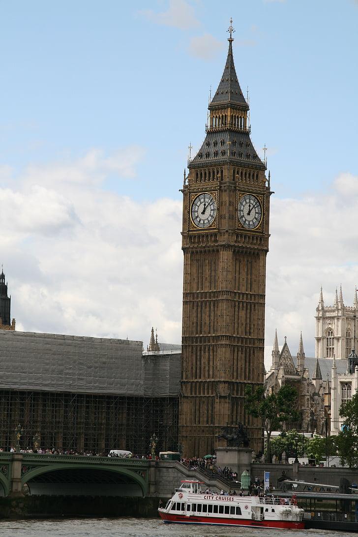 Lontoo, Big ben, kello, Englanti