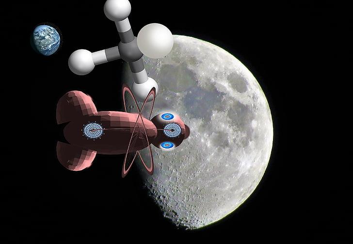 ciència-ficció, fantasia, galàxia, univers, Ciència, tecnologia, espai