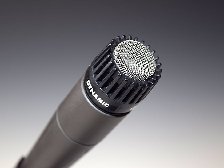 Срібло, мікрофон, мікрофон, динамічні, Аудіо, запис, Запис, студія, Студія постріл