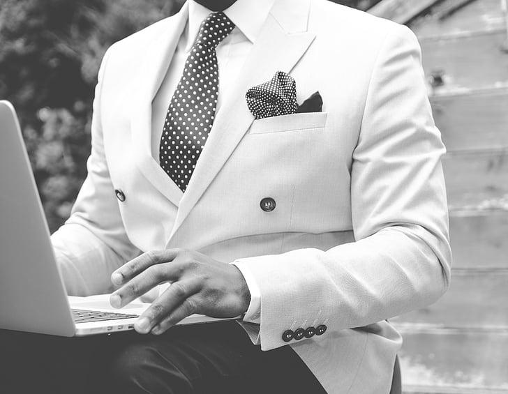 suit, man, dapper, work, male, business, person