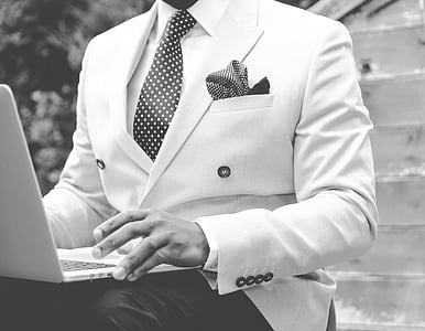 suit, man, dapper, work, male, business, person