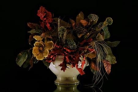 Blumen, stieg, Blütenblätter, Vase, Essenzen, Blume, Vasen
