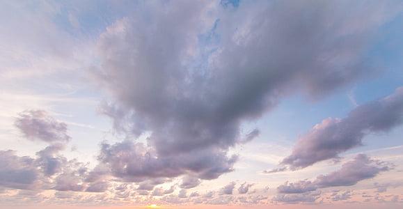 debesys, nuotrauka iš debesų, nuotolinių išteklių saugykloje, Debesis - dangus, Gamta, dangus, gamtos grožį