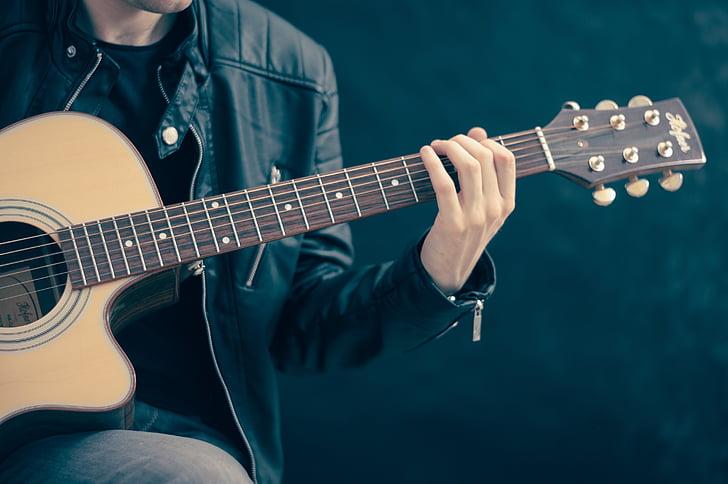 artist, guitar, guitarist, instrument, music, musician, performance