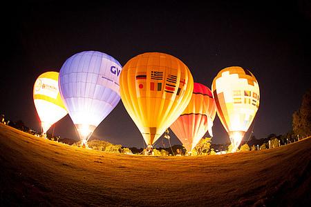 explozia cu aer cald, balon de zbor, balonul de aer cald