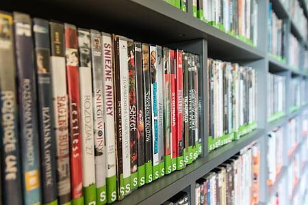 blur, bibliotecă, carti, librărie, Close-up, Colegiul, date