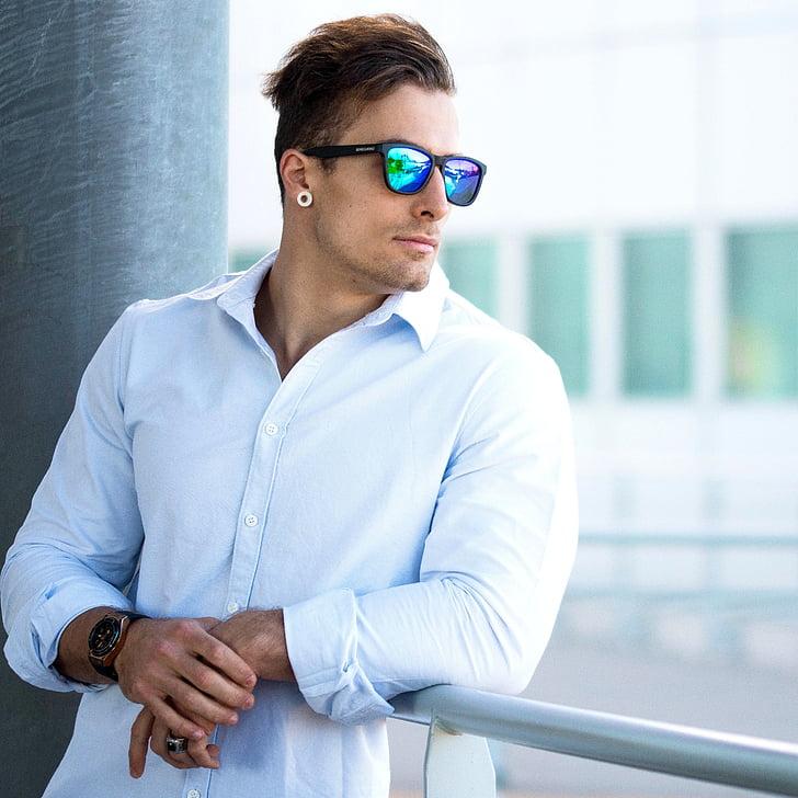 sensolatino, sunglasses, aviator, boy, man, one man only, one person