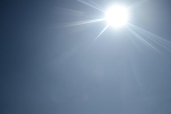 obloha, Příroda, sluneční světlo, Sunshine