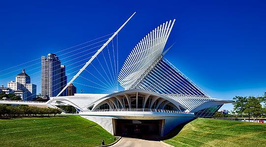 arhitektuur, Kunstimuuseum, hoonete, City, linnaruumi, kaasaegne