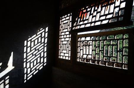 finestra, pel·lícules de finestra, vent de Xina, arquitectura, vell