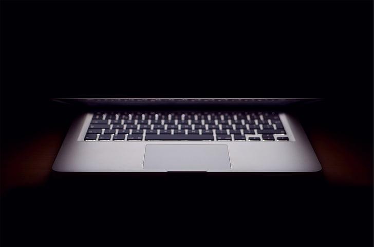 Apple, MacBook, laptop, tiene, tmavé, Technológia, podnikanie