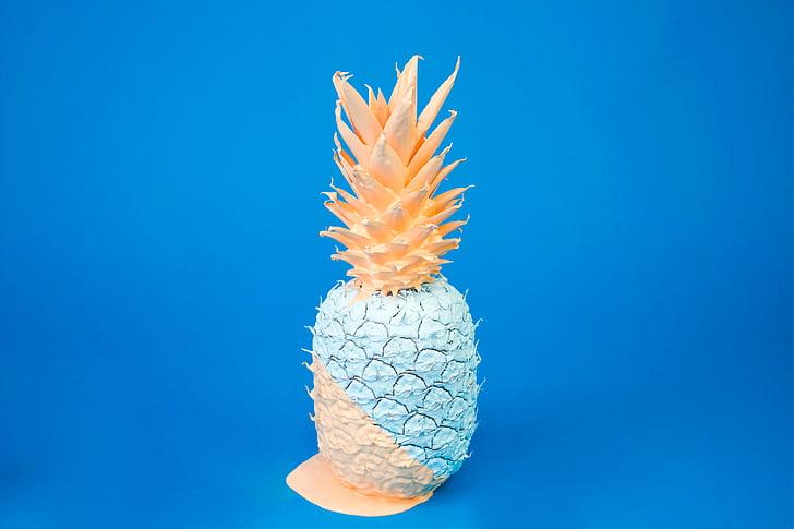 ananas, fruits, alimentaire, desserts, bonbons, santé, vitamines