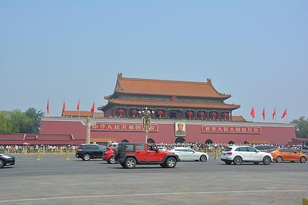 la plaça de Tiananmen, Pequín, Dia Nacional