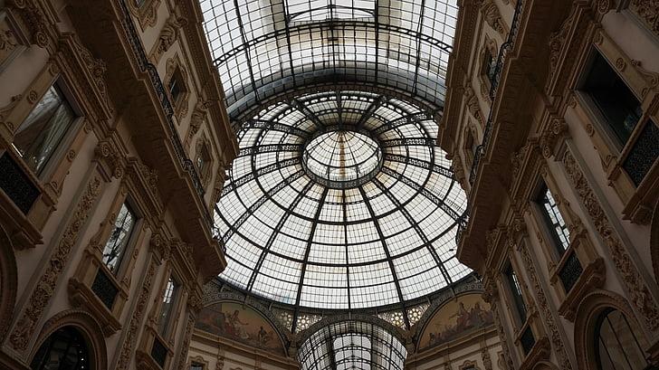 monument, art, italy, milan, works, history, galleria vittorio emanulele ii