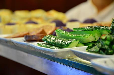 gurmet, cogombre, plats freds, un aperitiu