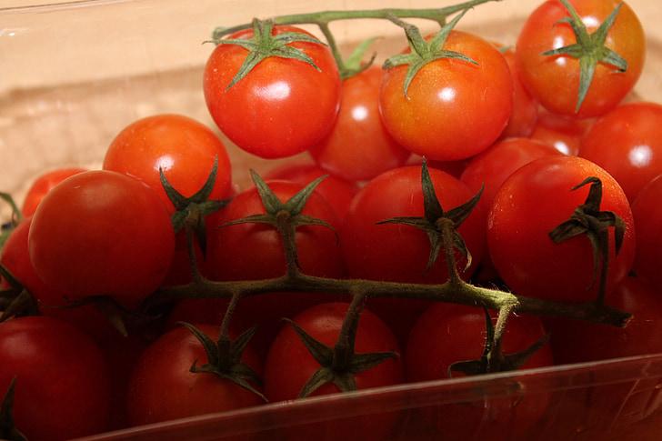 rajčica, rešetki, Crveni, veganski, vegetarijanska