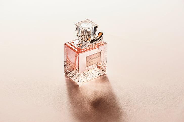 parfum, sticla, parfum, miros, blur, cadou