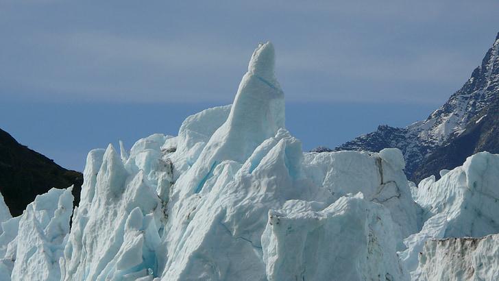 Alaska, la glacera, el Parc Nacional, gel, Mar, muntanyes, Pau de la ment