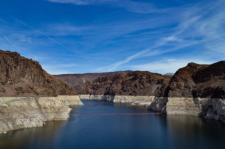 Lake mead, đập Hoover, Hoover, Dam, Nevada, Arizona, nước