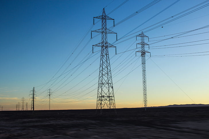 elektriciteit, kabels, energie, Torres, licht, elektrische, levering