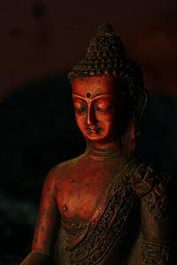 Buddhismus, Buddha, Zen, meditace, náboženství, Asie, socha