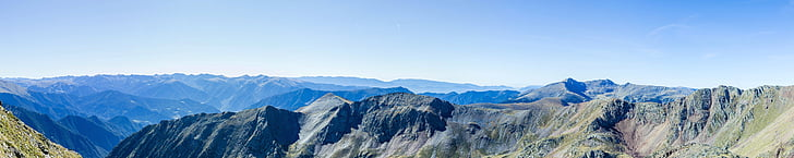 paesaggio, montagna, catena montuosa, natura, Panoramica