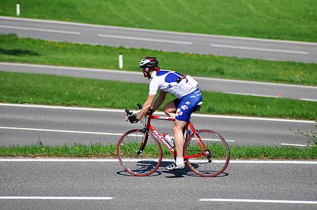 ceļu velosipēds, velosipēds, Riteņbraukšana, rats, velosipēdisti, cikls, brīvais laiks