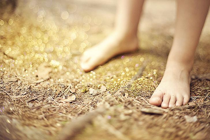 dijete, djetinjstvo, stopala, dijete, noga, ljudi
