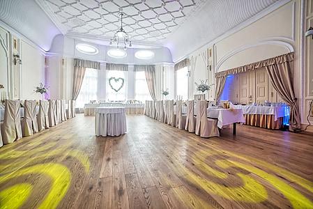 restaurant, l'adoption de, mariage, événement, la cérémonie, décoration, décoratifs