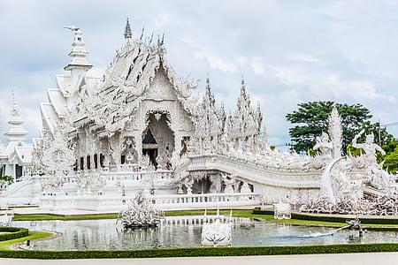 temple blanc, Chiang rai, Tailàndia