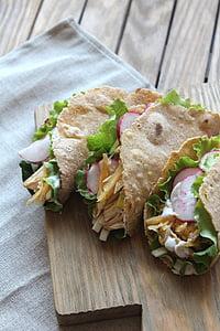 Taco, ορεκτικό, κουζίνα, τροφίμων, διατροφή, πιάτο, χρήσιμα