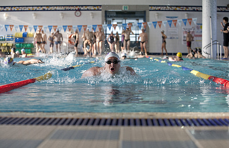 Natació, exercici, piscina, esport, esport competitiu, competència, l'exercici