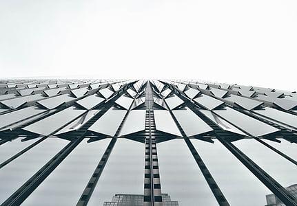 arhitektuur, hoone, infrastruktuuri, taevas, pilvelõhkuja, Tower, klaas