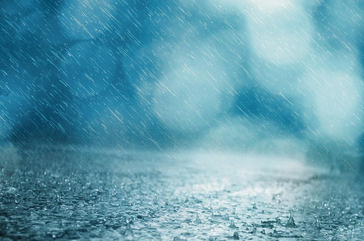 regn, bakgrunn, slipp, Vær, vann, Storm, dusj