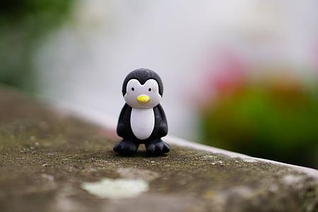 penguin, toys, figure, children toys, child, arctic, children