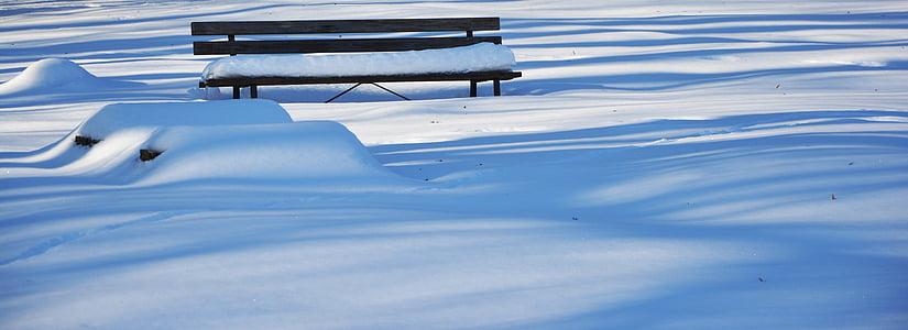 mùa đông, tuyết, Ngân hàng, tuyết rơi, wintry, tuyết rơi, tuyết rơi