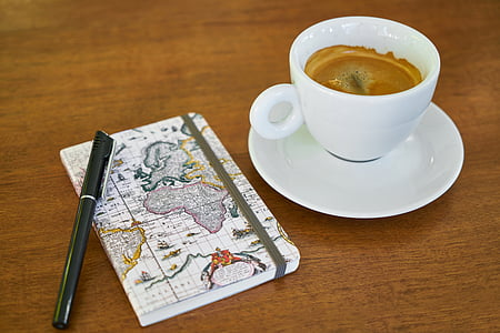 coffee, caffeine, glass, cafe, food photo, healthy eating, breakfast