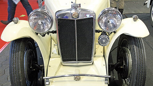 Oldtimer, mg, cotxe vell, nostàlgia, clàssic, Històricament, vehicle