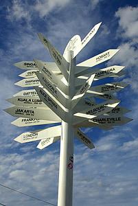 yön tabelası, yön, bilgi, karar, yön, yol işareti, tavsiye