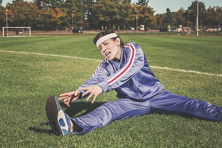 atleta, cos, exercici, gimnàs, salut, Sa, afició