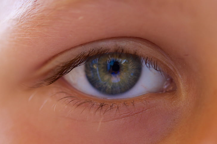 oko, dieťa, deti, zelené oči