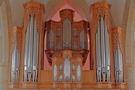 organų, Bažnyčios vargonai, hillebrand, Meppen, bažnytinės muzikos, priemonė, organų švilpukas