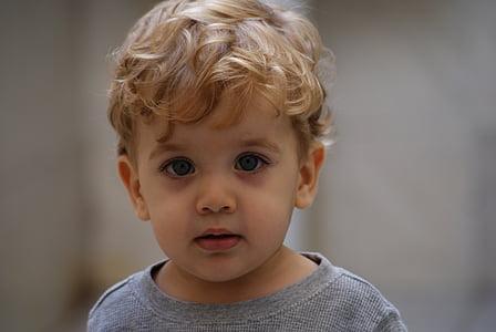 child, look, boy, guy, portrait, blond