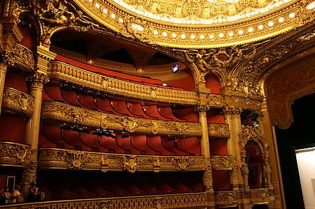 paris opera, Opéra garnier, teātris