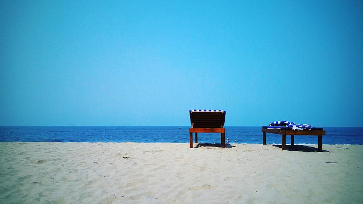 пляж, подорожі, море, берег моря, мобільні