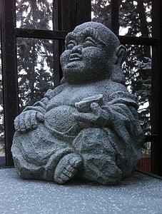 Buddha, statuja, ledus, Budisms, Tēlniecība, Meditācija, Zen