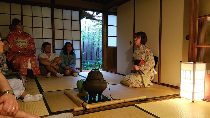 japan, tea, traditional, ceremony, culture, oriental, table